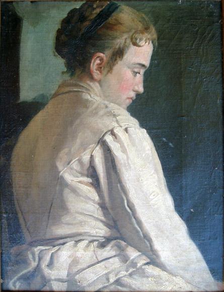 Girl, 1893 - Іван Грохар