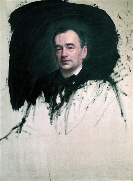Portrait of Dr. Karl A. Rauhfus, 1887 - Ivan Kramskoy