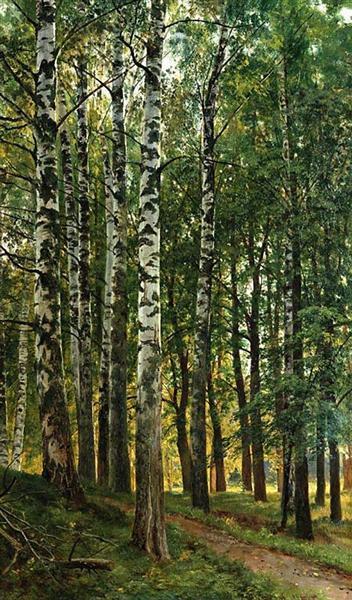 Birch Grove, 1896 - Ivan Shishkin