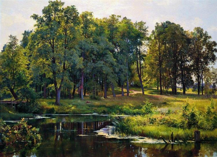 In the park, 1897 - Iván Shishkin