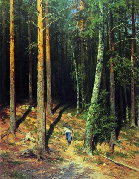 Pine forest, 1878 - 伊凡·伊凡諾維奇·希施金