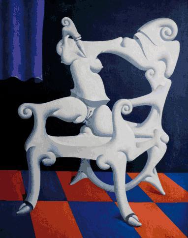 La silla adulta, 1969 - Iván Tovar