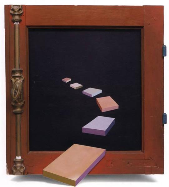 Painted Window, 1971 - Ivan Tovar