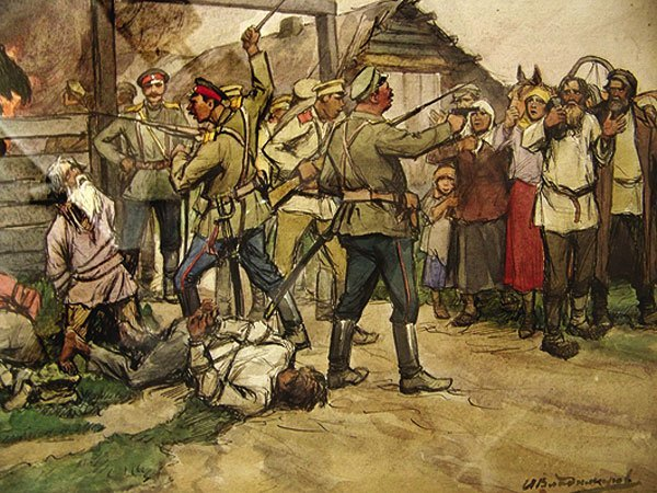 the-shooting-of-peasants-by-white-cossac