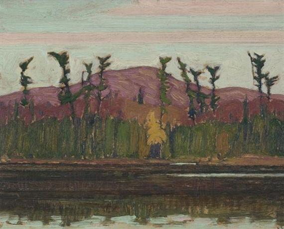 Layton's Lake, Algoma, 1919 - J. E. H. MacDonald