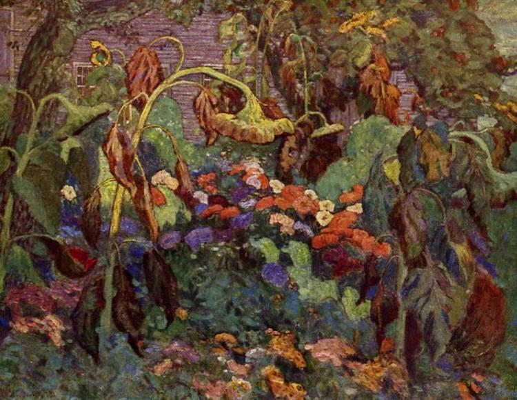 The Tangled Garden, 1916 - J. E. H. MacDonald