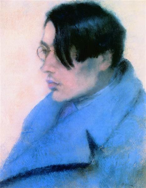 Portrait of Lorinc Szabo, 1923 - Йожеф Рипль-Ронаи