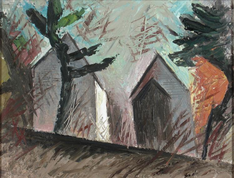 In the Afternoon, Mattawa, 1947 - Jack Bush
