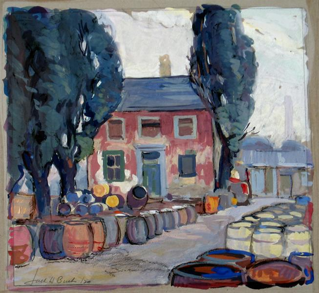 King Street West, Toronto, 1930 - Jack Bush