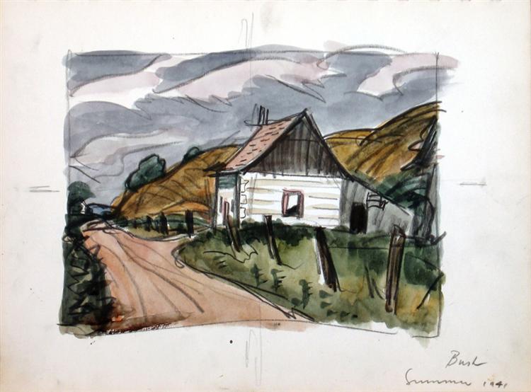 Summer, 1941 - Jack Bush