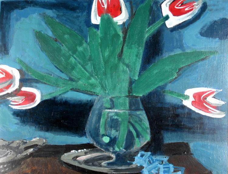 Tulips, 1945 - Jack Bush