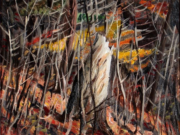 Woods in Autumn, 1944 - Jack Bush