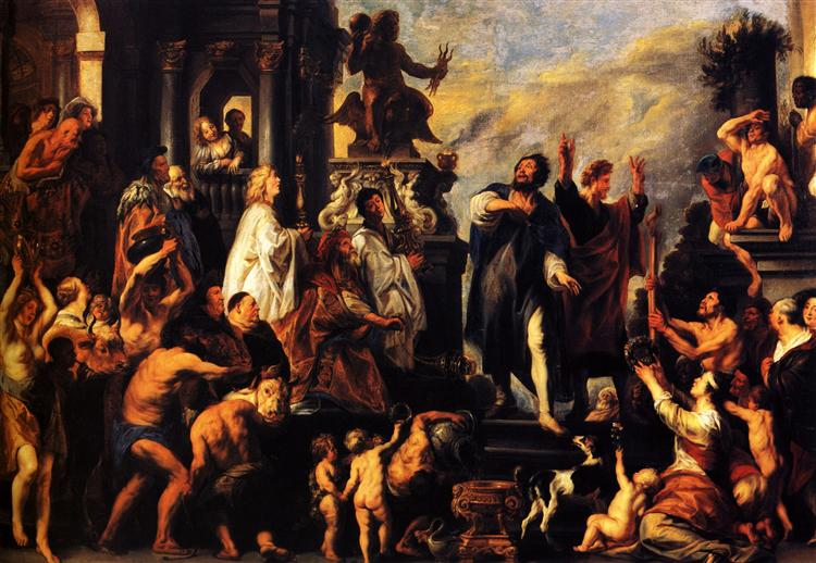 The Apostles, St. Paul and St. Barnabas at Lystra, 1645 - Jacob Jordaens