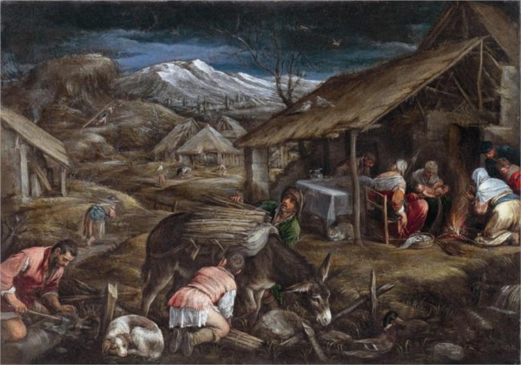 Winter - Jacopo Bassano