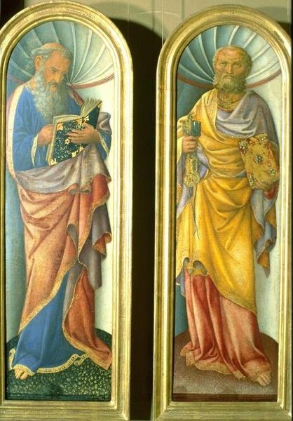 John the Evangelist, the Apostle Peter, 1430 - Jacopo Bellini
