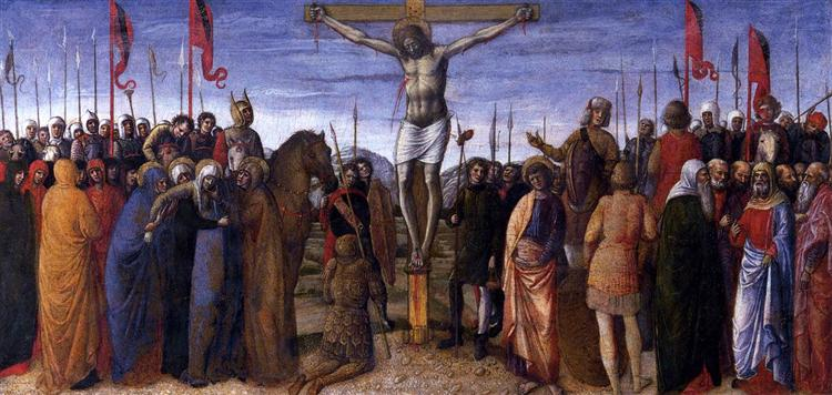 The Crucifixion - Jacopo Bellini