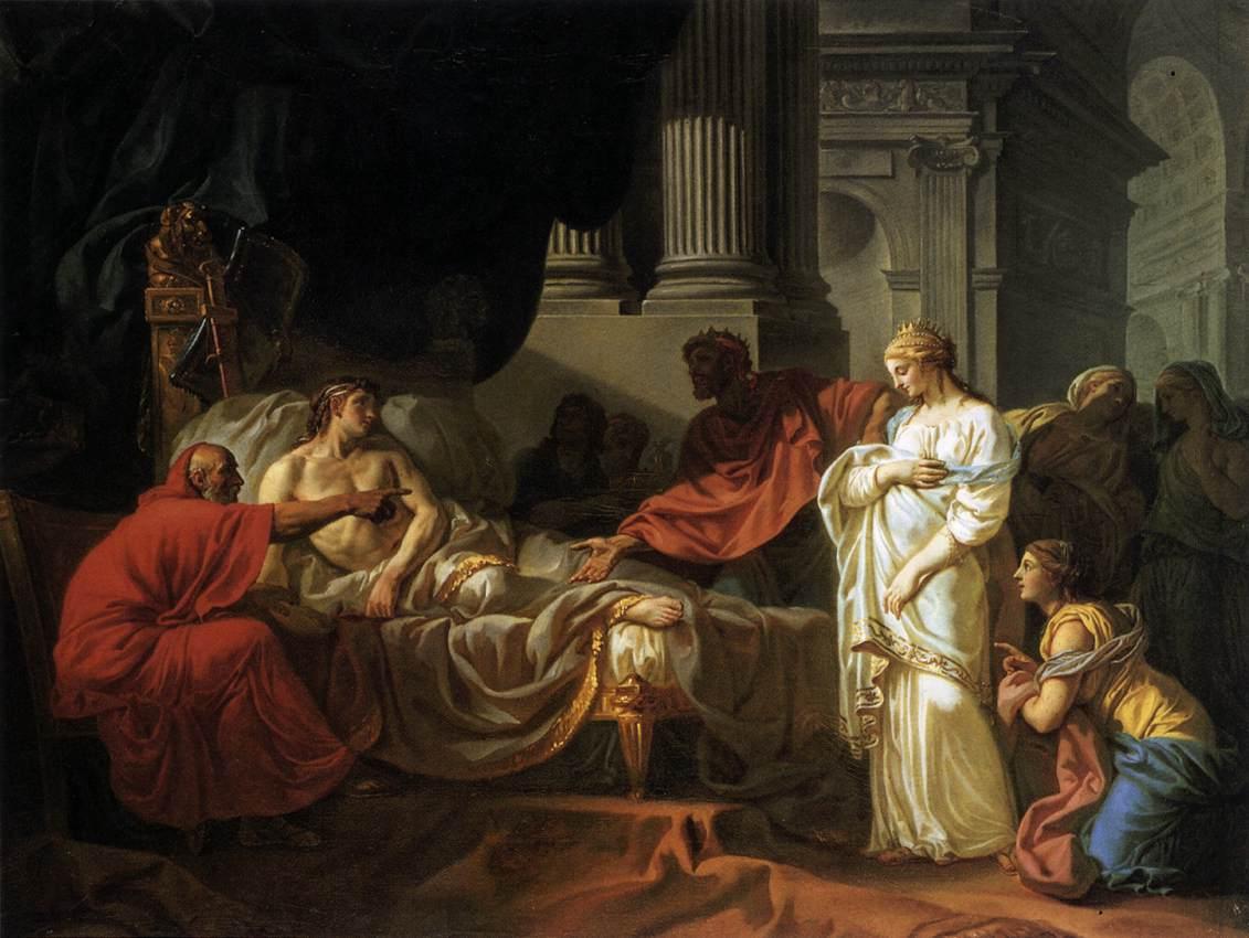 jacques louis david París (francia 🇫🇷), 30 de agosto de 1748 - bruselas (bélgica 🇧🇪), 29 de diciembre de 1825 inspirado por los modelos escultóricos y mitológicos.