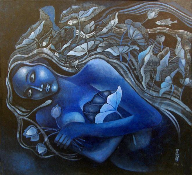Lotus Girl, 2008 - Jahar Dasgupta