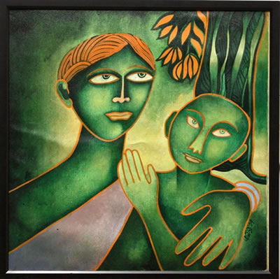 Mother and Child - Jahar Dasgupta