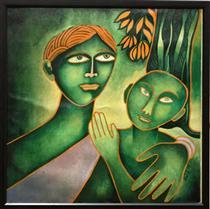 Mother and Child - Jahar Dasgupta