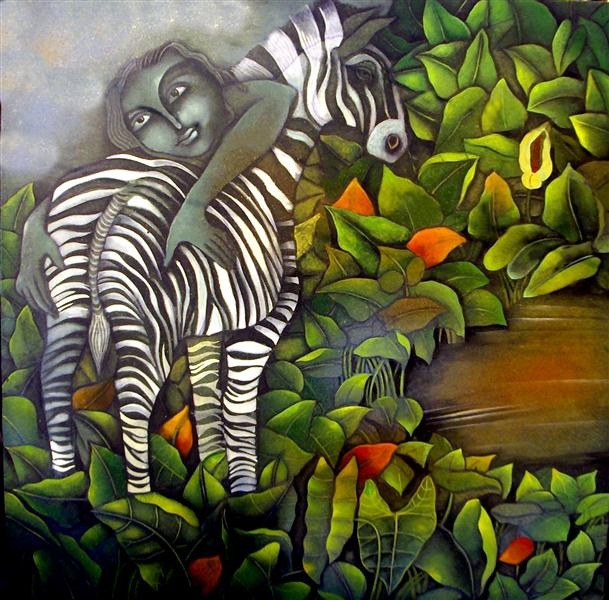 Zebra and a Boy - Jahar Dasgupta