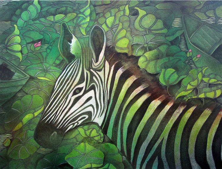 Zebra in Nature - Jahar Dasgupta