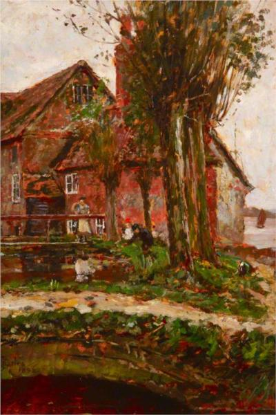 Bosham Mill, 1892 - James Charles