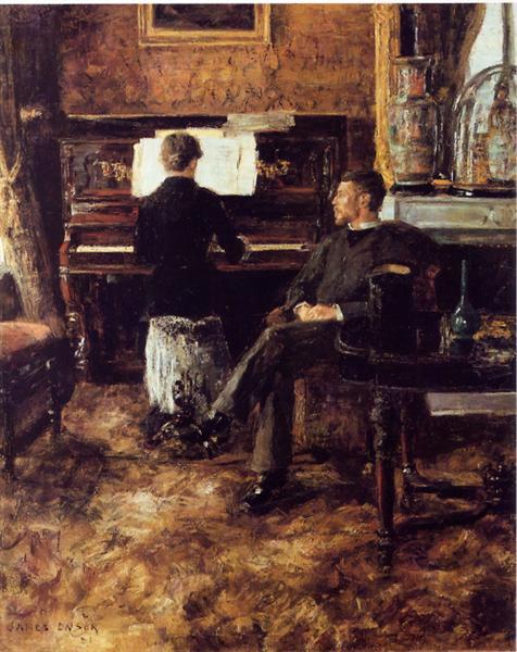 Russian Music, 1881 - James Ensor
