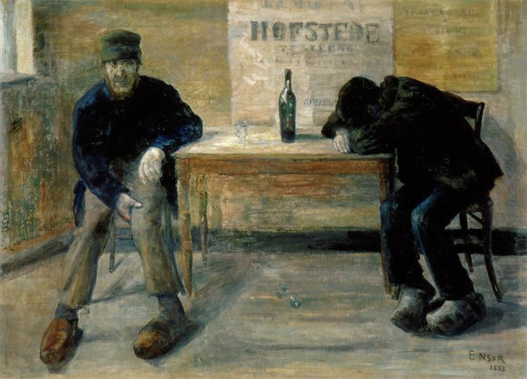 The Drunkards, 1883 - James Ensor