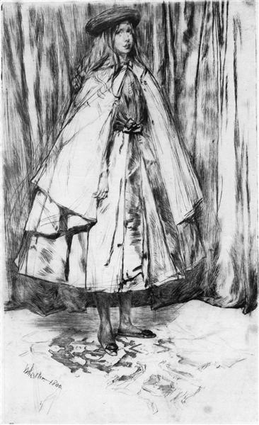 Annie Haden, 1860 - James McNeill Whistler