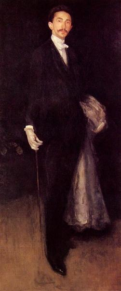 Arrangement in Black and Gold, 1891 - 1892 - James McNeill Whistler