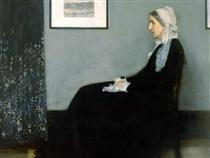 Arrangement in Grey and Black No.1, Portrait of the Artist's Mother - James McNeill Whistler