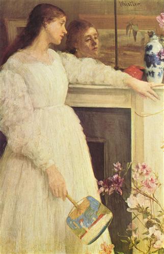 Symphony in White, No. 2: The Little White Girl  - Джеймс Эббот Макнил Уистлер