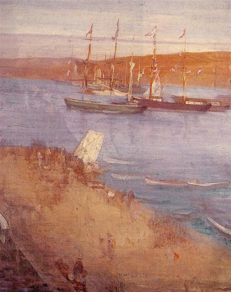 The Morning after the Revolution, Valparaiso, 1866 - James McNeill Whistler