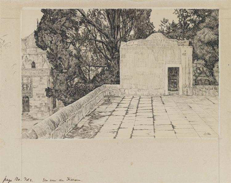 A Corner of the Haram, 1886 - 1889 - James Tissot