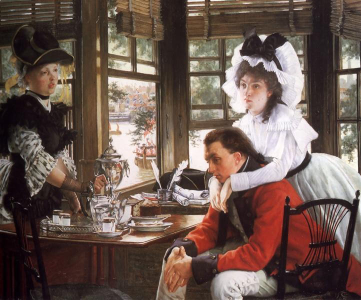 Bad News, 1872 - James Tissot