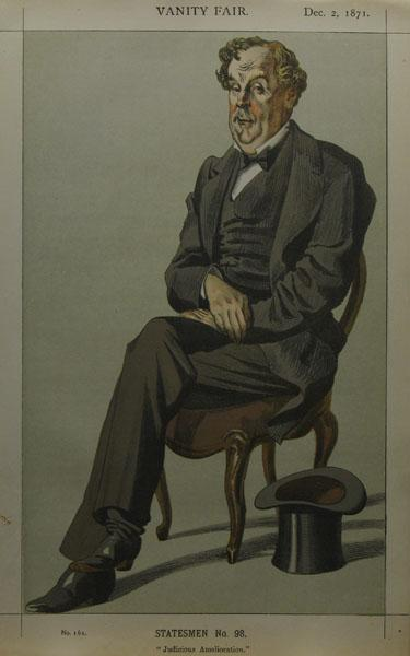 Caricature of Alexander Baillie Cochrane M.P., 1871 - James Tissot