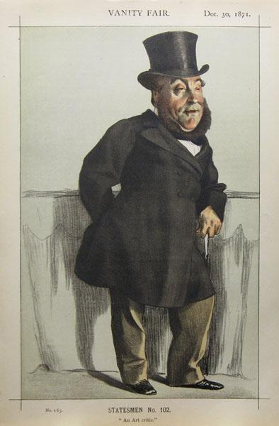 Statesman No.102° - Caricature of William Henry Gregory, 1871 - James Tissot