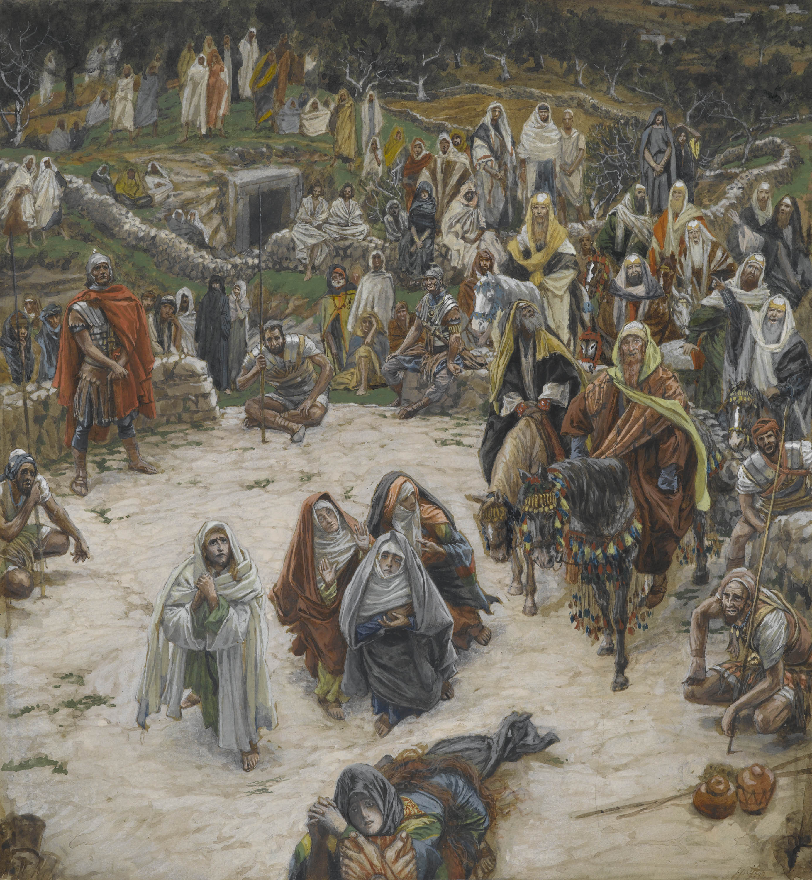 Cross Seen From the Crucifixion James Tissot