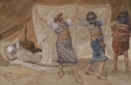 Noah's Drunkenness, c.1896 - c.1902 - James Tissot