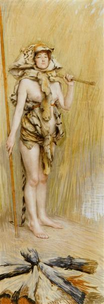Prehistoric Women - James Tissot