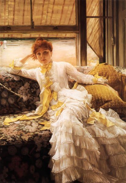 Spring, c.1878 - James Tissot