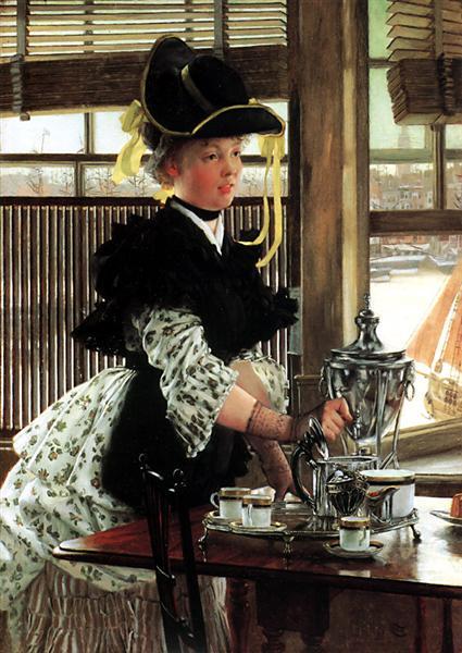 Tea Time - James Tissot