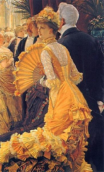 The Ball, 1880 - James Tissot
