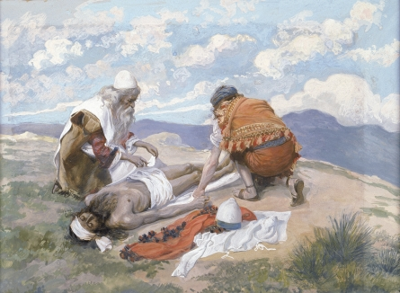 The Death of Aaron, c.1896 - c.1902 - James Tissot