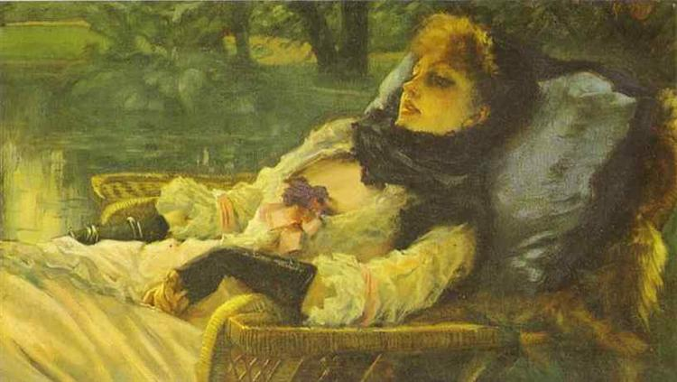 The Dreamer (Summer Evening), 1871 - James Tissot