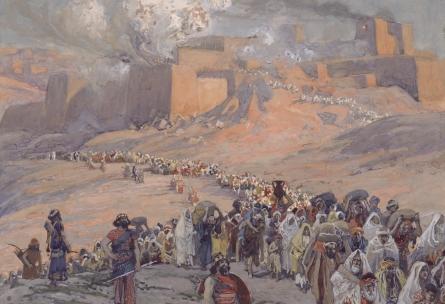 The Flight of the Prisoners, c.1896 - c.1902 - James Tissot
