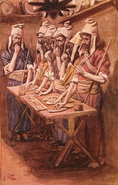 The Jews Passover - James Tissot