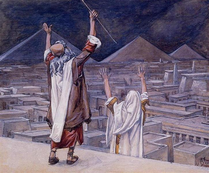 The Plague of Locusts, 1896 - 1900 - 詹姆斯·迪索