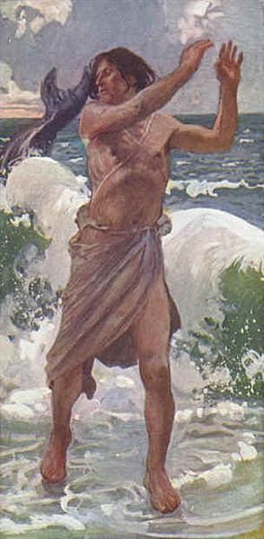 The Prophet Jonah - James Tissot